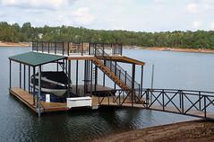Sundeck Dock with Gables