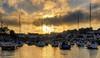 Saundersfoot Harbour, Pembrokeshire, Wales