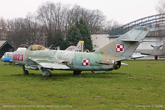 WSK Lim-5 (licenced MiG-17F) (srkirad) Tags: jet military wsk lim5 mig17 polish licenced museum aviation krakow poland travel winter outdoor cloudy worn