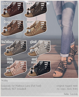 friday for The Arcade June - Nellie Sandals!