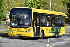 782 - YX09HZF (DavidsBuses) Tags: ratpbournemouthyellowbuses yx09 yx09hzf 782 alexanderdennis alexanderdennisenviro200