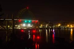 Yaquina Bay Bridge At Night (PNW Rails Photography) Tags: newport oregon unitedstates yaquina bay bridge us101 101 us
