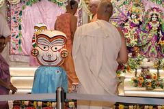 Snana Yatra 2017 - ISKCON-London Radha-Krishna Temple, Soho Street - 04/06/2017 - IMG_2320 (DavidC Photography 2) Tags: 10 soho street london w1d 3dl iskconlondon radhakrishna radha krishna temple hare harekrishna krsna mandir england uk iskcon internationalsocietyforkrishnaconsciousness international society for consciousness snana yatra abhishek bathe deity deities srisri sri lord jagannath baladeva subhadra 4 4th june summer 2017