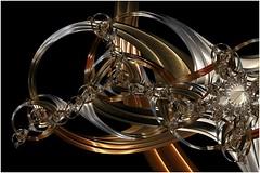 Ring Galaxy (Ross Hilbert) Tags: fractalsciencekit fractalgenerator fractalsoftware fractalapplication fractalart algorithmicart generativeart computerart mathart digitalart abstractart fractal chaos art mandelbrotset juliaset mandelbrot julia orbittrap metal sculpture spiral copper brass steel