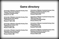 Bunbury Junior Hockey Carnival 2017_ (3) (Chris J. Bartle) Tags: university western australia hockey club victoria park xavier panthers j 78 boys championships photos 3 104 wesley south perth wasps 910 girls carnival 106 188 boyup brook 56 189 344 suburban lions 345 482 bunbury districts 346 618 ymcc 619 723 peel 724 829 830 937