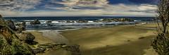 Seal Rock Pano (Steve Walser) Tags: oregon oregoncoast rocks surf