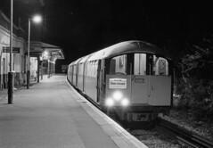 Night Tube (DH73.) Tags: isle wight shanklin island line class 483 008 1938 stock southwest trains minolta dynax 7000i ilford fp4 125asa id11 11 11mins