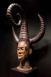 Headdress (Nigeria) - Musée du quai Branly, Paris, France