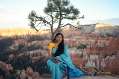 Shantonu at Bryce Canyon (Iftekhar Naim) Tags: humanandnature brycecanyon bryce sunset