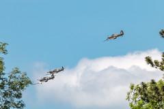 Queens Fly Past over Aston Clinton (Neil Baldwin) Tags: public astonclinton flypast halton hot queensbirthday summer sunny