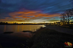 ARRASTO_COLORIDO_NO_RIBATEJO (paulomarquesfotografia) Tags: a7 sony sunset por do sol céu sky river rio arrasto