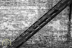 Brick and Ladder (PetersenPerspective) Tags: natchez city cityscenes mississippi abstract downtown