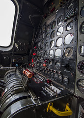Control, Control, You Must Learn Control (trainmann1) Tags: nikon d90 amateur handheld summer 2017 june hagerstownregionalairport hagerstown md maryland airport airplane airplanes plane planes sky flight runway metal rivets aluminum machine worldwar2 worldwarii wwii antique classic b29 superfortress bomber famous historic fifi interior cockpick pressurized controls guages seats pilot copilot engineer dials switches window windows commemorativeairforce caf