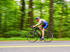speedy cyclist (mgstanton) Tags: nh race triathlon greaternashuasprinttriathlon nashua merrimack cycle cycling panning bike