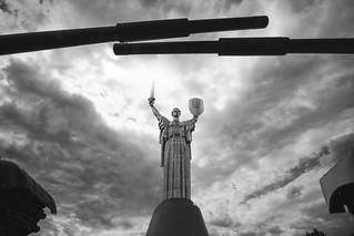Mother Motherland (Родина-мать), Kiev