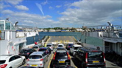 All aboard - Torpoint Ferry (PAUL Y-D) Tags: ferry torpoint cars tamarcrossing river water sea bluesky clouds
