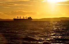 always in my mind... (Ruby Ferreira ®) Tags: ship sunset silhuetas silhouettes ripples rebocador tug baíadetodosossantos bay navio