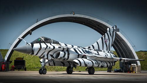 11F Sqn Marine Nationale 'Winter Tiger' Rafale