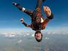 Head down over Chatteris (Gee667) Tags: bluesky skydive parachute freefall headdown chatteris nlpc gopro5 hero5 sky