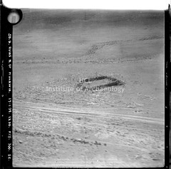 No ref (14518 of 'Muhawir-Sawab-Wadi Miyah-Qasr Helqum' roll) North of Muhawir (unknown) (APAAME) Tags: blackwhite cellulosenegative oblique royalairforce scannedfromnegative siraurelstein uclinstituteofarchaeology uclinstituteofarchaeologyspecialcollections aerialarchaeology aerialphotography middleeast airphoto archaeology ancienthistory