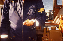 Merivartija ja pikkulintu 19.9.1993 (The Museum of Finnish Coast Guard) Tags: meri sea suomi finland merivartija merivartijat suomenlahti pikkulintu kesä vl valas 1993 thefinnishcoastguard