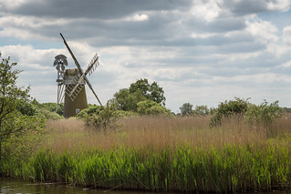 Turf Fen Drainage Mill, How Hill, Norfolk, UK (1)