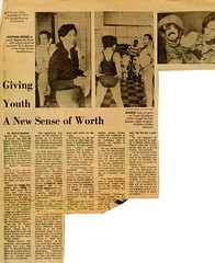 """""""Giving Youth a New Sense of Worth"""", S.F. Sunday Examiner and Chronicle, November 19, 1972. (San Francisco Public Library Branch Archives) Tags: sanfranciscopubliclibrary parkbranch youth youthguidancecenter mothergoose stephanieplum mildredhamilton"""