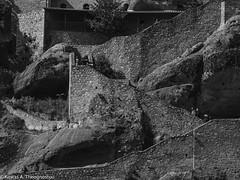 Meteora b/w (ktheog) Tags: meteora greece