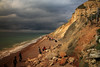 Isle of Wight UK (JensRongved) Tags: isle wight totland beach uk england great britain south cliffs clouds sea colours scenery senory front