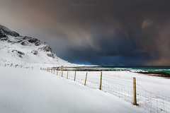 Moody Lofoten (Mark McLeod 80) Tags: 2016 arctic lofoten lofotenislands markmcleod markmcleodphotography norway mountains ocean winter