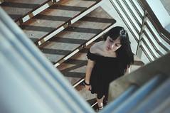 (Mishifuelgato) Tags: escaleras vista perspectiva cenital puerto alicante nikon d90 50mm 18 photography portrait girl chica alba photooftheday pickoftheday portraiture portraitphotography photoshoot port perspective spain españa