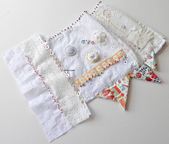 embroidered seams....beads, buttons and bullion knots (contemporary embroidery) Tags: embroidery seams bullionknots beads buttons