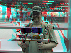 3D rig Steve Wessing 3D (wim hoppenbrouwers) Tags: 3drig stevewessing 3d anaglyph stereo redcyan athirddimensionmanthatsdeep thehague