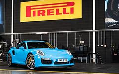 Pirelli (Alexbabington) Tags: porsche cars car supercar supercars turbo turbos 991 blue riviera rivierablue pts german