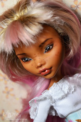 Clawdeen (Nyane Lebajoa) (evgeniya_chineko) Tags: ooak monsterhigh repaint custom doll bjd clawdeen