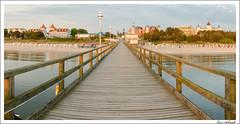 Panorama Strandpromenade Zinnowitz