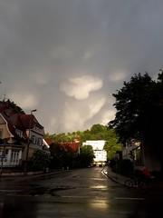 Leaving Storm (björnrudzewitz) Tags: stormy sturm stürmisch tübingen tuebingen wetter weather clouds wolken gewitter