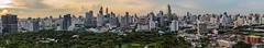 Bangkok Skyline Pano (21mapple) Tags: bangkok thailand thai panorama panoramic pano asia sky skyline skyscraper skyscrappers city cityscape
