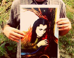 Arauko tiene una pena (Felipe Smides) Tags: violetaparra violeta pintura felipesmides smides