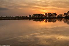 Alba (cesco.pb) Tags: risaia casaleggiodinovara alba dawn sunrise italia italy piemonte canon canoneos60d tamronsp1750mmf28xrdiiivcld