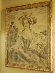 P5102537 (simonrwilkinson) Tags: nymans nationaltrust haywardsheath westsussex handcross drawing portrait