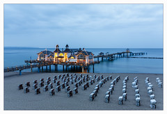_sellin (fot_oKraM) Tags: mecklenburgvorpommern vorpommern rügen ruegen sellin seebrücke pier strand beach ostsee baltic sea