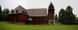 The Wooden Church of Svätý Kríž