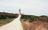 Lighthouse of Cabo Espichel (Peter Bruijn) Tags: cabo cape espichel portugal europe lighthouse analog analogue film 35mm 35mmphotography 35mmphoto 35mmfilm nikon nikonfe2 fe2 50mm 18 shootfilm kodak ektar ektar100 kodakektar