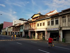 2017-05-25_09-06-54 (jumppoint5) Tags: light shadow shophouse street urban city contrast people crossing