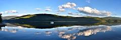 Shuswap Lake Panorama (Pat's Pics36) Tags: nikond7000 nikkor18to200mmvrlens canada bc britishcolumbia shuswaplake stives lake panorama landsape reflection