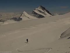 the 4000 meters peaks of the alps