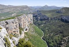 Gorges du Verdon (maxguitare1) Tags: paysage landscape paesaggio paisaje montagne mountain montagna montaña gorges gola garganta france nikon alpesdehauteprovence acantilados scogliere cliffs falaises