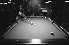 67420010 (fuzzywomack) Tags: newyork film filmphotography canonat1 canon 35mmfilm 35mm manhattan pool billiards amerstdambilliards at1