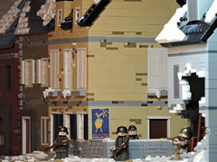 Battle of St. Vith (brickdetailer) Tags: vith battle ww2 lego kid photo photograph picture photography town building death war fun
